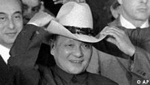 Deng Xiaoping mit Cowboyhut