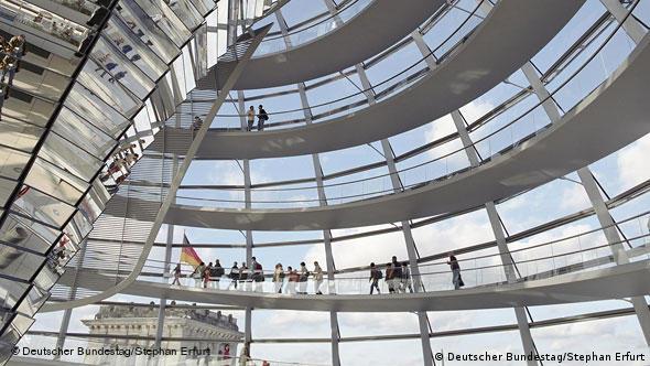 Купол Рейхстага можно считать самостоятельным произведением архитектурного искусства