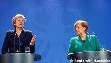 Berlin Pressekonferenz Angela Merkel und Theresa May