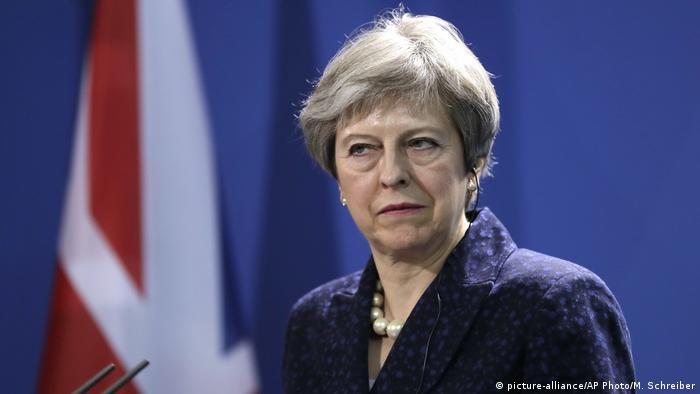 Deutschland Berlin Theresa May