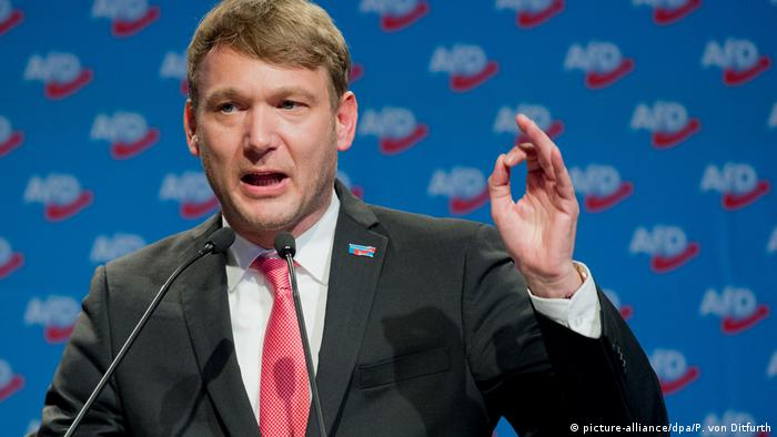 Andre Poggenburg AFD Rede (picture-alliance/dpa/P. von Ditfurth)