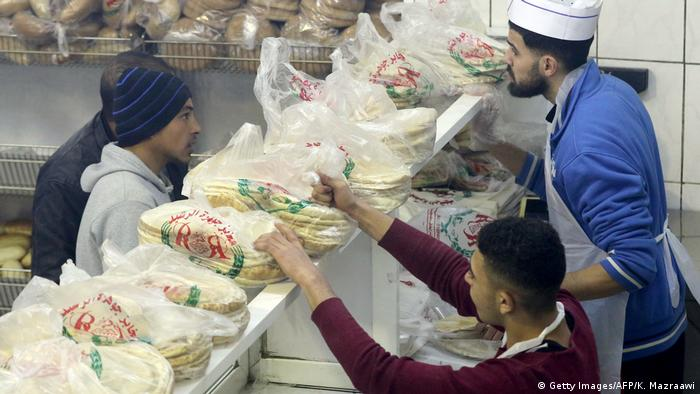 Jordanien Brotpreise (Getty Images/AFP/K. Mazraawi)