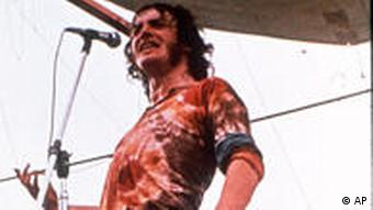 Joe Cocker in Woodstock 1969