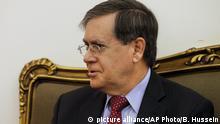 Libanon - US David Satterfield mit Libanesischem Außenminister Bassil
