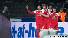 Fussball - Hertha BSC - FSV Mainz 05 - Tor 0:1