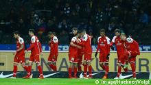 Fussball - Hertha BSC - FSV Mainz 05 - Tor Jubel 0:2