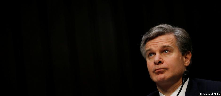 O diretor do FBI, Christopher Wray.