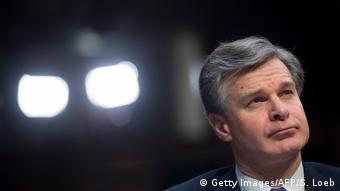 USA FBI Chef Wray - Floridas Gouverneur fordert seinen Rücktritt (Getty Images/AFP/S. Loeb)