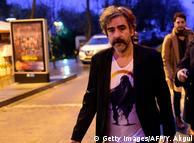 Деніз Юджель після свого звільнення в Стамбулі 16 лютого 2017 року