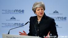 München MSC 2018 | britische Ministerpräsidentin Theresa May