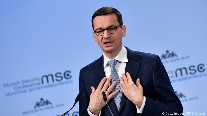 Polish PM Mateusz Morawiecki