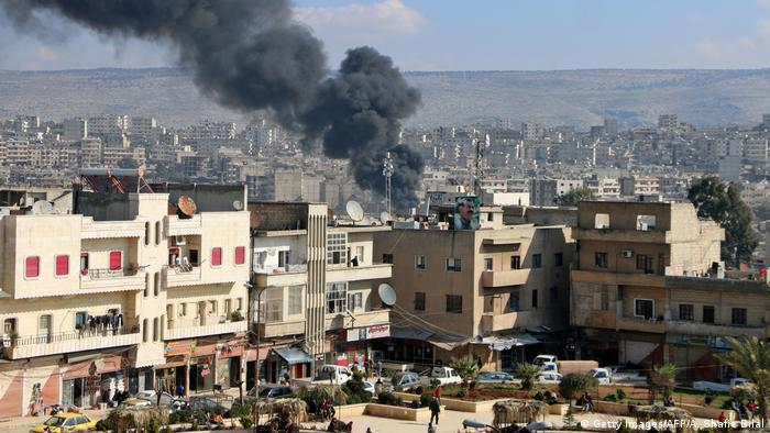 A cidade de Afrin, no norte da Síria