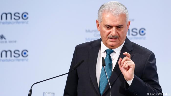 Прем'єр-міністр Туреччини Біналі Їлдирим на Мюнхенській конференції з безпеки