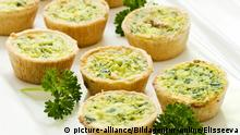 Fastenspeise Mini-Quiches, Vorspeise, Buffet