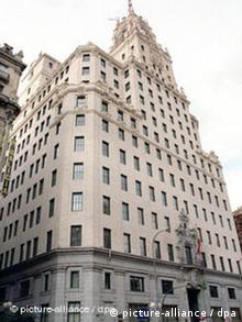 Telefonica's headquarters in Madrid