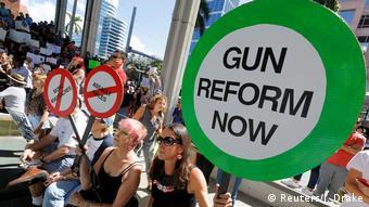 Aπό διαδήλωση κατά της οπλοκατοχής στη Φλόριντα