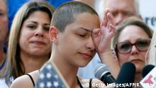 USA Anti-Waffen-Demonstration in Fort Lauderdale - Emma Gonzalez
