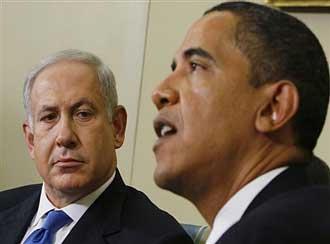 نتانیاهو از سوی باراک اوباما تحت فشار است تا راه حل دو دولت را بپذیرد