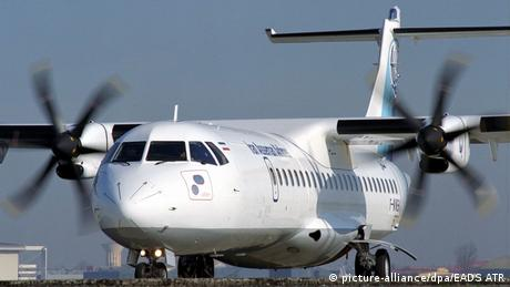 Iran Asseman Airline (picture-alliance/dpa/EADS ATR)