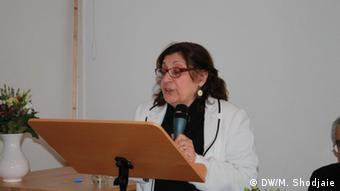 سهیلا ستاری، یکی از برگزارکنندگان مراسم