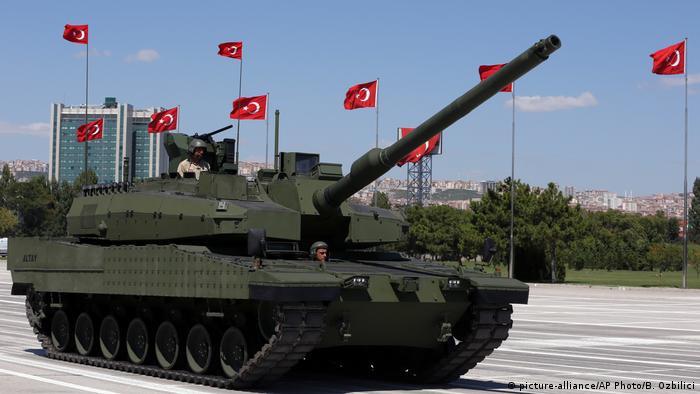 Altay tankı motoru için niyet beyanı imzalandı