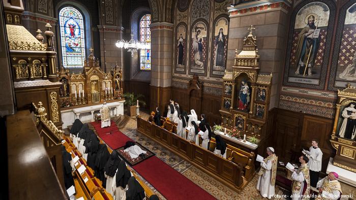 Zisterzienserinnenkloster St. Marienthal von Innen
