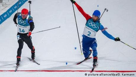 Photo finish in the Biathlon
