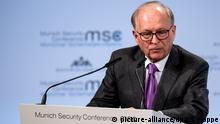 München MSC 2018 | Wolfgang Ischinger (picture-alliance/dpa/S. Hoppe)