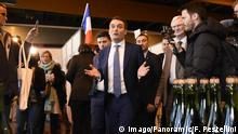 Congres des patriotes avec Florian Philippot ( ELD ) NEWS : Congres des patriotes avec Florian Philippot - Arras - 18/02/2018 FedericoPestellini/Panoramic PUBLICATIONxNOTxINxFRAxITAxBEL