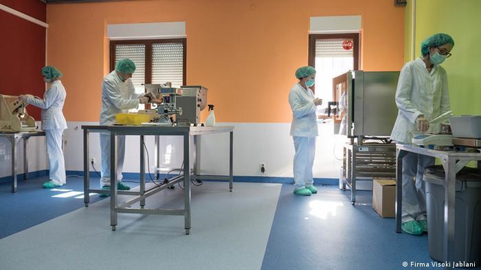 Proizvodnja u tvrtki Visoki Jablani