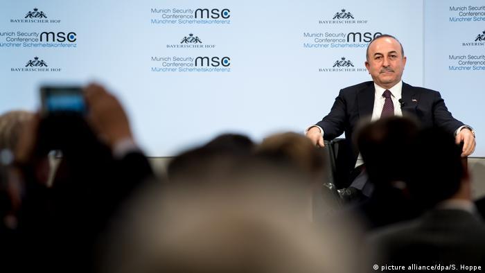 Mevlüt Çavuşoğlu Münih Güvenlik Konferansı'nda, 18 Şubat