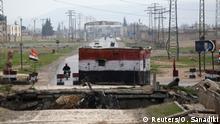 Syrien Aleppo Checkpoint Syrische Armee