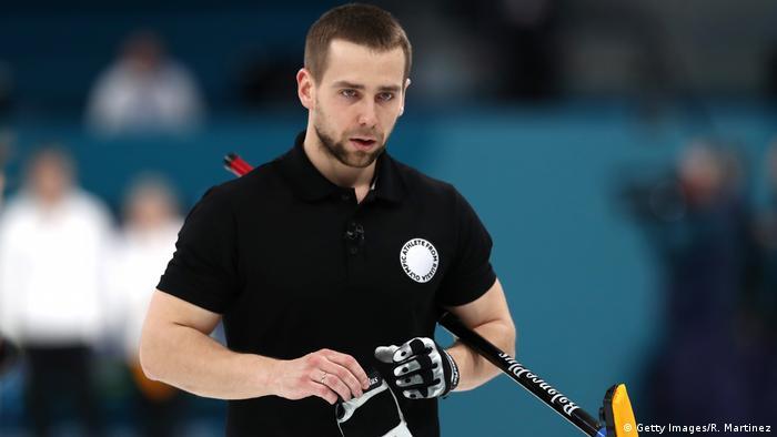 PyeongChang Olympia 2018 Curling - Alexander Kruschelnizki