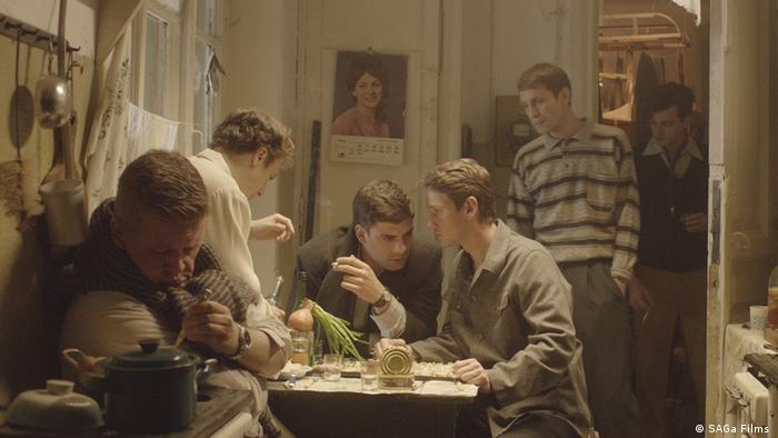 Scena iz filma Dovlatov.
