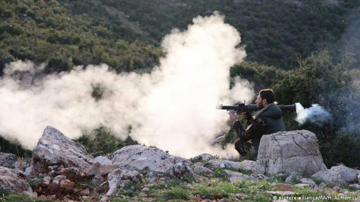 Syrien FSA Kämpfer in Afrin