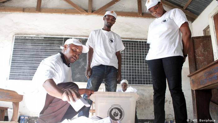 Wahlen in Tansania (DW/E. Boniphace )