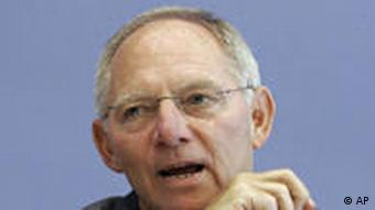 German Interior Minister Wolfgang Schaeuble