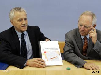 Wolfgang Schaeuble and Heinz Fromm