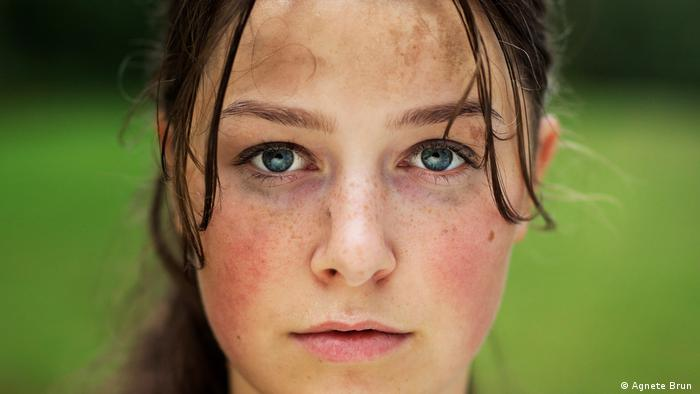 Film still of the protagonist in 'U – July 22,' a film by Erik Poppe (Agnete Brun)