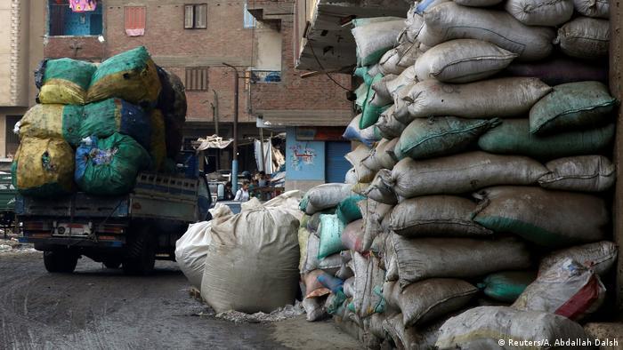 Bildergalerie Ägypten Recycling-Wirtschaft in Kairos Slum Zabaleen (Reuters/A. Abdallah Dalsh)