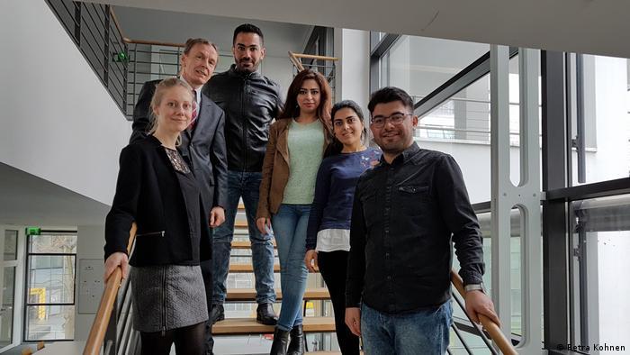 DW Akademie International Media Studies Geflüchtete (Petra Kohnen )
