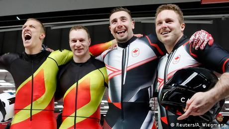 Pyeongchang 2018 Winter Olympiade Zweier Bob Goldmedaille Deutschland Kanada (Reuters/A, Wiegmann)