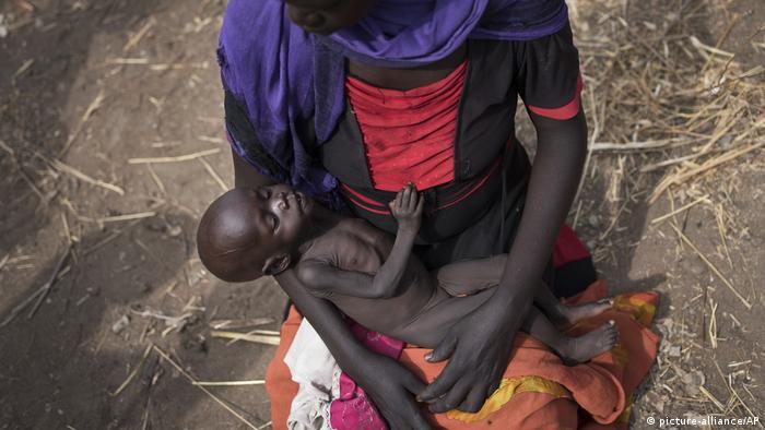 Südsudan Hunger