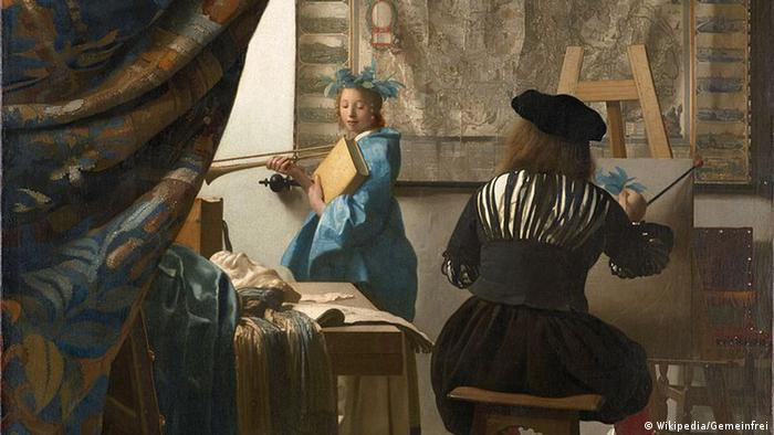 Ausschnitt aus Gemälde von Johannes Vermeer (Wikipedia/Gemeinfrei)