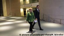Deutschland Angela Merkel empfängt Mark Rutte