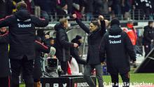 Deutschland Fussball 1 Bundesliga Eintracht Frankfurt vs RB Leipzig