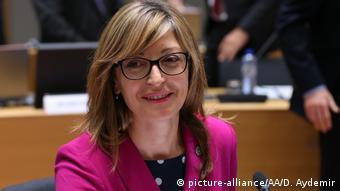 Η υπουργός Εξωτερικών της Βουλγαρίας Εκατερίνα Ζαχαρίεβα