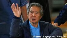 Peru ehem. Präsident Alberto Fujimori