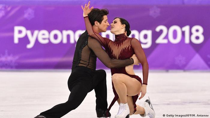 Pyeongchang 2018 Olympische Winterspiele | Eiskunstlauf- Tessa Virtue und Scott Moir (Getty Images/AFP/M. Antonov)