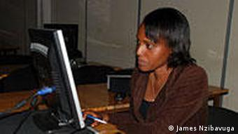 professional woman in Rwanda